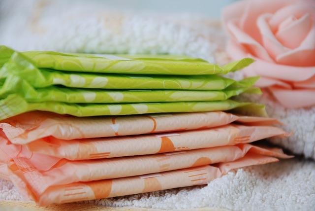 menstruace vložky