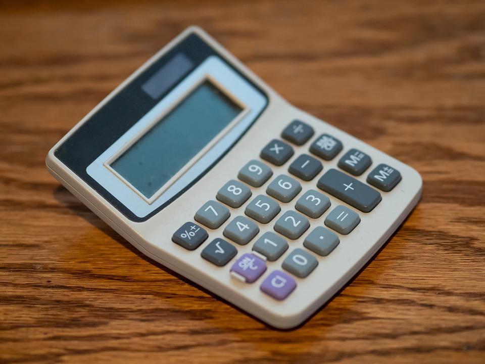 počítání s kalkulačkou